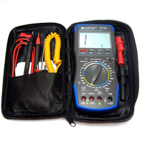 HoldPeak Digital Automotive Multimeter HP-760J