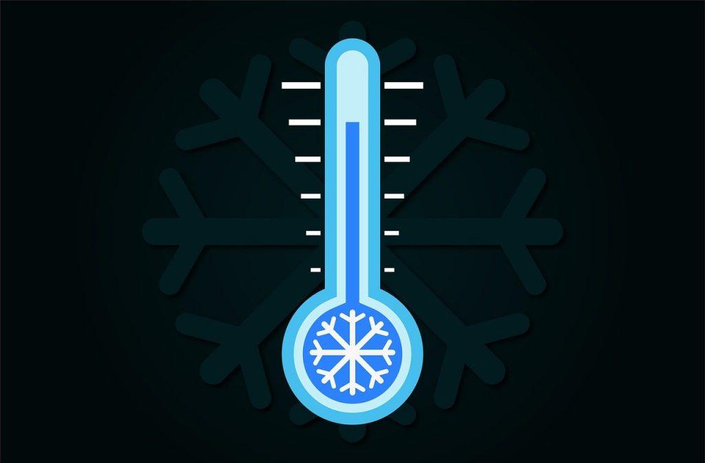 Thermometer Temperatur Einfrieren